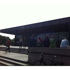 New national Gallery - Mies Van Der Rohe and Gerhard Richter unites