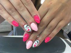#flamingo #flamingonails #pink