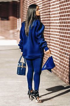 Muehleder Signature Sweatshirt Patent Leather Pants, Scuba Fabric, Sweatshirt Dress, Signature Logo, Comfortable Fashion, Wearing Black, I Dress, Dress To Impress, Personal Style