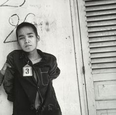 Khmer Rouge / Nhem Ein. Untitled (prisoner #3 of the Khmer Rouge). 1975-79