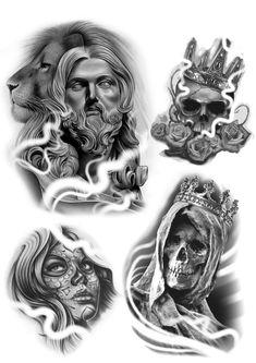 Gangsta Tattoos, Chicano Tattoos, Chicano Art, Tattoo Sketches, Tattoo Drawings, Ozzy Tattoo, Aztecas Art, Azteca Tattoo, Dibujos Tattoo