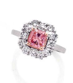Pink diamond ring............    pink diamond ring
