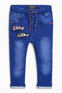 Buy Blue Car Jersey Jeans (3mths-6yrs) from the Next UK online shop