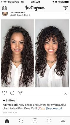 Trendy Naturally Curly Hair Look Picture Description helpful before and after #devacut - #Curly https://looks.tn/hairstyles/curly/trendy-naturally-curly-hair-look-helpful-before-and-after-devacut/