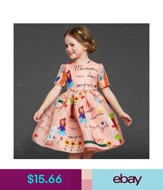 c4348fe80e1 Girls  Clothing (Sizes 4  amp  Up) Flower Girl Toddler Kids Baby Princess