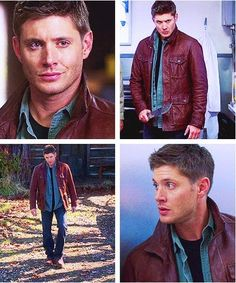 So, @Liz Steenbeeke knows how to make my Tuesday morning better. Bowlegs, Leather Jacket 2.0, Dean being a bamf with a knife, and then perfect expressions. <3 #Supernatural #DeanWinchester