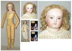 Belle poupée parisienne de la maison HURET (période Aimé François LEMOINE entre…