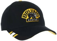 NHL Boston Bruins Structured Adjustable Hat, One Size adidas. $10.19. Save 46% Off!