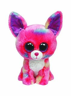 Amazon.com: Ty Beanie Boos Cancun Chihuahua Plush, Pink: Toys & Games