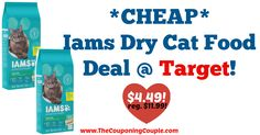 *HOT DEAL* *CHEAP* Iams Dry Cat Food Deal @ Target!  Click the link below to get all of the details ► http://www.thecouponingcouple.com/cheap-iams-dry-cat-food-deal-target-2/ #Coupons #Couponing #CouponCommunity  Visit us at http://www.thecouponingcouple.com for more great posts!