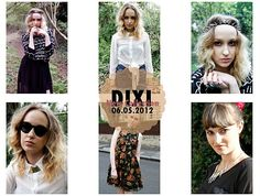 New DIXI Collection launched today!  Image from: http://shopdixi.com