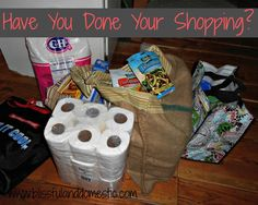 LOVE LOVE LOVE this post on Grocery shopping for the WHOLE month!! this is exactly what I do and cuts my grocery budget in HALF!!!