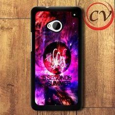 5 Seconds Of Summer HTC One M7 Black Case