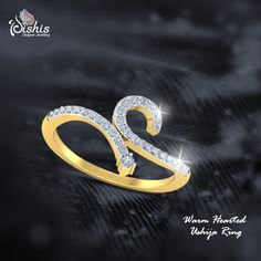 As the name suggests, it's a ring that will make a relation for a lifetime and memories that will be cherished forever. Make a special bond with this hand-crafted jewelry! Designed by #Designer #Dishi Somani! #DesignerDiamondJewellery #DiamondDesignerJewellery #DesignerJewellery #DiamondJewellery #GoldDesignerJewellery #DesignerGoldJewellery #FineDiamondJewellery ! Get it here-http://bit.ly/-Smashing-Elina-Ring