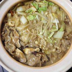 冬は鍋だべ。らくちん。笑 - 5件のもぐもぐ - 豚味噌ちゃんこ鍋 by hidekana0330