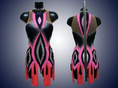 Платье 1977 Latin Ballroom Dresses, Latin Dresses, Ballroom Dance, Dance Dresses, Samba Brazil, Latin Dance, Lace Flowers, Dance Costumes, Dance Wear