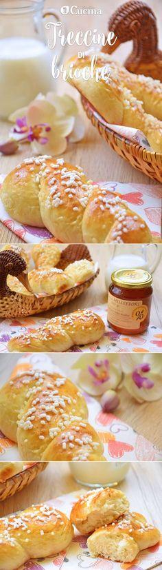 Le treccine di #brioche al #miele sono un'ottima idea per la colazione o la merenda di tutta la famiglia, in particolare dei più piccoli. Ecco la #videoricetta
