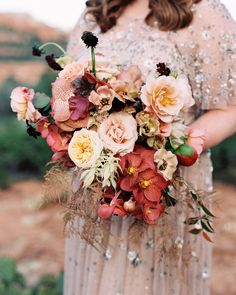 Martha Stewart Weddings has combines unique summer wedding color palettes, including Terra-Cotta, for your personal inspiration. These beautiful, trendy, and romantic color combos will help your big day stand out! Fruit Wedding, Fall Wedding, Wedding Flowers, Wedding Ideas, Autumn Weddings, Wedding Inspiration, Dream Wedding, Green Weddings, Wedding Simple