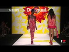 """""""DESIGUAL"""" Highlights Spring 2015 New York by Fashion Channel - YouTube"""