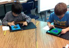 iPads in Art