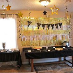 Oscar Themed Birthday Party
