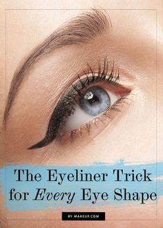 Eyeliner Tricks for Big Eyes | Easy DIY Tutorial for a Dramatic Makeup Look by Makeup Tutorials at http://makeuptutorials.com/makeup-tutorials-17-great-eyeliner-hacks/