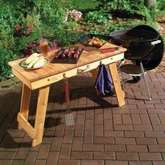 Make a fold away BBQ bench in one afternoon..