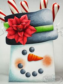 One Happy Stamper...: TAYLORED EXPRESSIONS OCTOBER SNEAK PEEKS: SACK IT SNOWMAN WITH SACK IT TO YOU & BIG BOLD CHRISTMAS