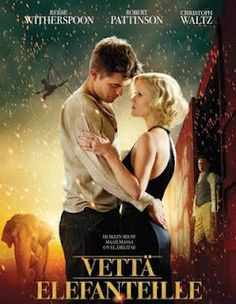 Sara Gruen; Vettä elefanteille   (Water for Elephants, 2006) /  Bazar, 2009. 364 sivua.