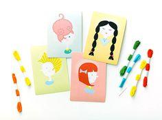 DIY Sewing Cards