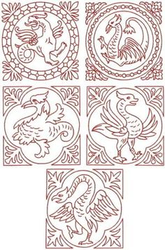 Advanced Embroidery Designs - Griffin Block Set                                                                                                                                                                                 More