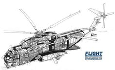 Sikorsky CH-53A Cutaway - Pictures & Photos on FlightGlobal Airspace