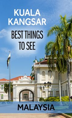 The Malaysian city of Kuala Kangsar is a Royal Capital on the trip between Kuala Lumpur and Penang. There is lots to see in Kuala Kangsar, including the Royal Palace, the Ubudiah Mosque, and the Malay College. I think it's worth spending half a day and doing the Heritage Trail in Kuala Kangsar on your travels in Malaysia.