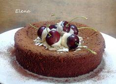 Chocolate y Pimienta: Tarta de chocolate de sólo 3 ingredientes