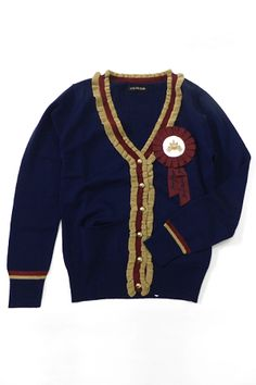 Cricket Cardigan with Rosette  ac
