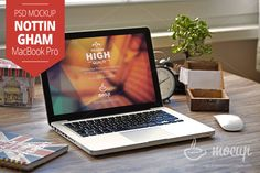 "MacBook Mockup Nottingham ""B"" by Mocup, mockupdeals.com on Creative Market"
