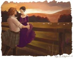 (60) Twitter Outlander Fan Art, Outlander Season 1, Outlander Book Series, Sam Heughan Outlander, Outlander Casting, Jamie Fraser, Claire Fraser, Claire And Jamie, E Claire