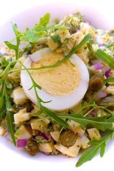 Creamy Arugula Egg Salad