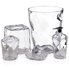 Glass Blocks 5-Piece, Clear