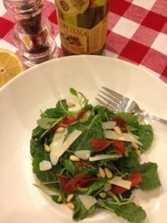 Kale Salad #salads #JillsTable Kale Salad, Salads, Meat, Chicken, Recipes, Food, Beef, Meal, Food Recipes