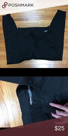 • Black Joggers • Great condition! PINK Victoria's Secret Pants Leggings