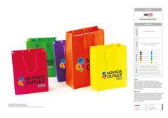 novada kurumsal kimlik tasarımı kapsamında promosyon ürünleri tasarımı & üretimi.  karton çanta tasarımı & basımı