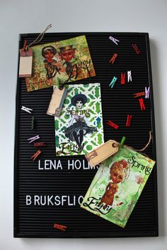 Mixed Media Mail Art Collaboration - Spring