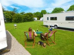 Great touring, motorhome and camping holidays at Harrogate Caravan Park #dogsinvited #dogfriendly #dogswelcome