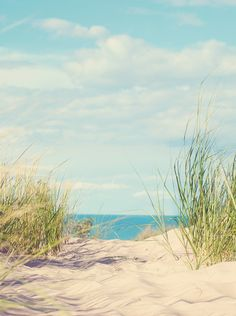 A beachy town in the middle of the country, Porter sits next to the Indiana Dunes State Park on Lake Michigan.