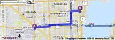 Driving Directions from 3401 NW 42nd Ave, Miami, Florida 33142 to 212 NE 59th Ter, Miami, Florida 33137 | MapQuest