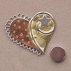 Magnetic Pin Cushion - Heart