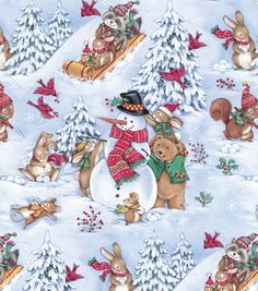 Find holiday fabric for all your holiday crafting needs at JOANN Fabric & Craft Stores. No matter the occasion, we carry a wide selection of holiday sewing fabric for year-round crafts and projects. Christmas Sewing, Christmas Fabric, Christmas Wrapping, Vintage Christmas, Christmas Scenes, Christmas Animals, Christmas Cards, Decoupage, Scrapbooking