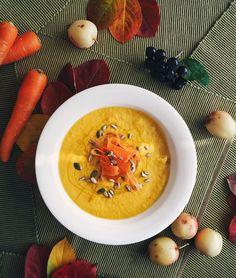 Koskenlaskija-porkkanasosekeitto Thai Red Curry, Favorite Recipes, Foods, Drinks, Ethnic Recipes, Food Food, Drinking, Beverages