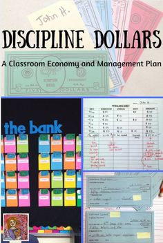 Classroom management plan based on a classroom economy, includes money, charts for tracking money, checks to pay for class rewards, and coupons, editable PowerPoint to personalize some of the components, options for younger and older students